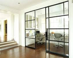 interior glass barn doors for homes with panels