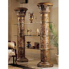 Design Toscano Egyptian Wings Of Horus Grand Altar Console Table Egyptian Etagere Bookcase In 2019 Home Sweet Home