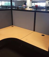 office work surfaces. Equilateral Curved Corner Work Surfaces Make These Stations Easy To Orient In A Lefthand Or Righthand Office ,