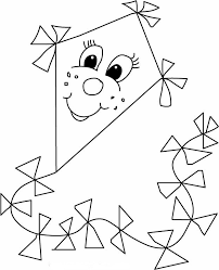 Small Picture Flying Kite Coloring Page GetColoringPagescom