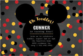 mickey mouse party invitation mickey mouse birthday party ideas wording activities