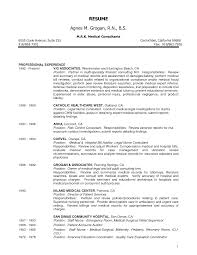 Nurse Manager Resume Objective Sidemcicek Com