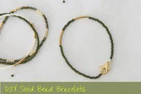 diy seed bead bracelet tutorial