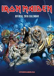 Kalendář 2020 Iron Maiden