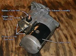 rebuild your ctd starter dodge diesel diesel truck resource forums place the motor on your bench silver end down holding things carefully lift the black housing while pushing down on the armature shaft