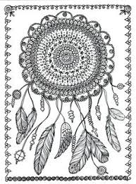 Small Picture dream catcher coloring page Google Search Arrows Feathers