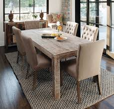 attractive design ideas reclaimed wood dining room table 5