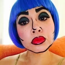 ic character makeup ic character pop art makeup