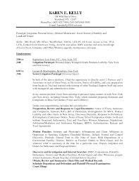 Personal Injury Paralegal Resume Sample Recentresumes Com