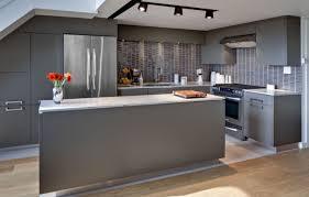 Modern Gray Kitchen Cabinets Grey Kitchen Decor Kitchen And Decor