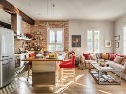 Small Picture Cozy Home Interior with Red Brick Wall Design 4BetterHome