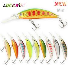 NEW <b>Mini Minnow</b> Fishing lure 5cm <b>Bait</b> Lifelike swing <b>small</b> fish ...