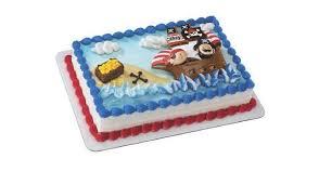 Amazoncom Little Pirates Themed Birthday Cake Kit Toys Games