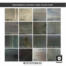 Weather Color Chart Color Chart Weatherwash