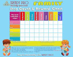 5 Day Reward Chart Reward Charts Trendy Pro