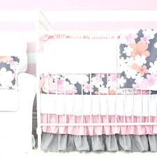 pink and grey bedding full size of pink and grey crib bedding gray fl crib pink
