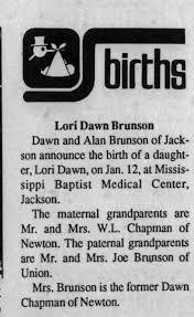 1989 Jan 25 Lori brunson - Newspapers.com