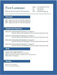 Free Resume Templates For Word 2007 Beauteous Free Resume Templates For Microsoft Word Resume Templates Doc Free