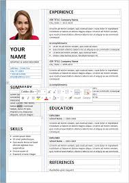 Free Resumes Templates Cool 60 Free Resume Templates [ PSD Word ] UTemplates
