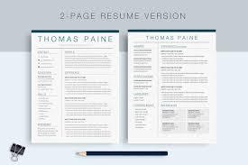 Illustrator Resume Google Docs Resume Template Icons Colors