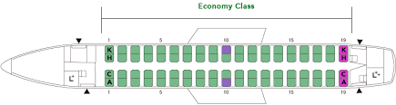 Embraer170 E70 Aircrafts And Seats Jal
