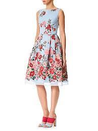 <b>Carolina Herrera</b> - Floral Embroidered Dress - saks.com