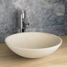 bathroom sink. Portici 40cm Limestone Gelala Basin Bathroom Sink E