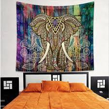 indian mandala tapestry hippie wall hanging elephant peacock bohemian bedspread beach towel high quality size 130cmx150cm 143cmx203cm old world tapestry