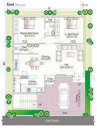 North Facing House Vastu Plan With Pooja Room