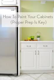 diy home improvement on a budget paint your cabinets easy and do it