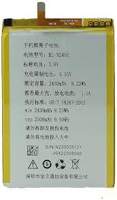Gionee Elife S55 38V BLN2450 2430 mAh ...