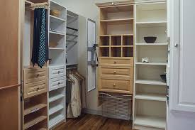 wall hung or floor mounted construction options for closet storage