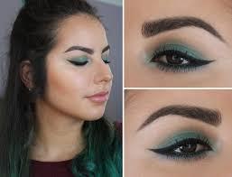 makeup geek sea mist green smokey eye eyeshadow coastal scents teal spring makeup look fotd