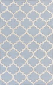 plushrugs imports paddock allets 4u0027x6u0027 light blue white rug light blue area rug p52 rug