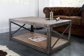 Table Basse Industrielle M Tal Et Bois Mobilier Design Table Basse Design Bois Et Metal