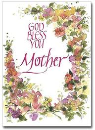 God Bless You Mothers Day Greeting Card