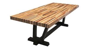 butcher block dining table. Modern Butcher Block Dining Table C