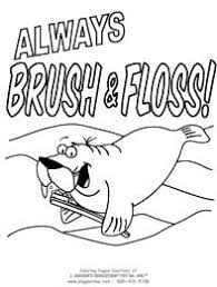 Oral care is an integral part of the health care as well as the protection of the child's body and smile. Dental Coloring Pages Teeth Toothbrushes Dental Coloring Fun