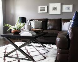 gray wall brown furniture. Living Rooms With Gray Walls And Brown Furniture Gopelling Net Wall
