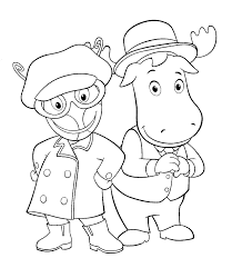 Small Picture Free Printable Backyardigans Coloring Pages For Kids