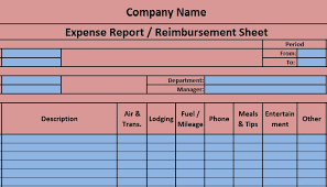 how to create expense reports in excel download free accounting templates in excel