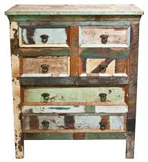 distressed wood furniture. reclaimed teakwood chest of drawers distressed wood furniture
