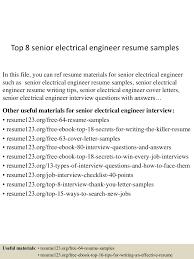 Senior Electrical Engineer Resume Sample Top224seniorelectricalengineerresumesamples224lva224app62249224thumbnail24jpgcb=22424322242224324224 19