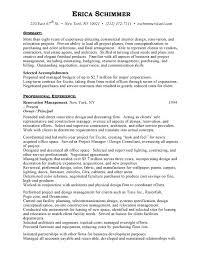 Interior Design Resume Interior Designer Craftsman Interior