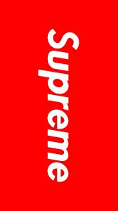 High Quality Supreme Logo Wallpaper