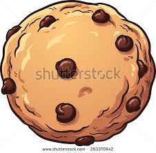 chocolate chip cookies clip art. Chocolate Chip Cookie Vector Clip Art Illustration With Simple Gradients All In Single Throughout Cookies