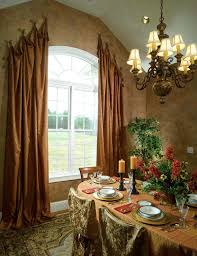 Great-Arched-Window-Treatments-decorating -ideas-for-Dining-Room-Traditional-design-ideas-with-Great-arch-curtain-arch