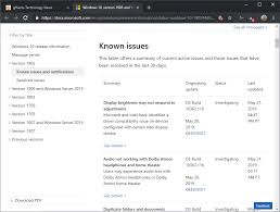 What Version Of Windows 10 Do I Have All Existing Issues With Windows 10 Version 1903 May 2019