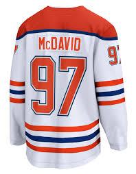 A true fan is always proud and never stops believing. Fanatics Men S Mcdavid 97 Retro Reverse Jersey Edmonton Oilers That Pro Look