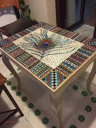 9 new broken glass mosaic table top elghriba com intended for designs 11